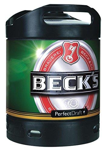 Becks Beer 6L Keg for Perfect Draft Machine
