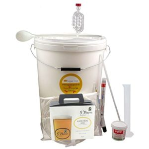 36 Pint (4.5 Gallon) Homebrew Beer Making Starter Kit – St Peters Golden Ale, Home Brew Microbrewery