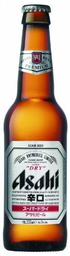 Asahi – Super Dry Japanese Premium Lager Beer – 24 x 330 ml – 5% ABV