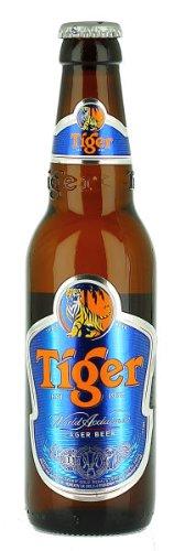 Tiger Beer Singaporan Lager 330ml Bottle