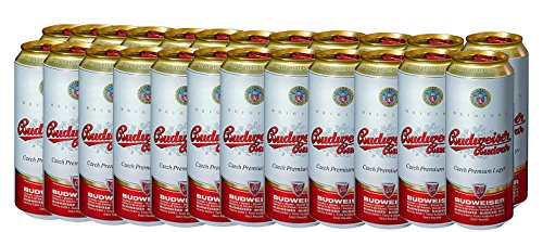 BUDWEISER American Lager 24x 500ml Cans