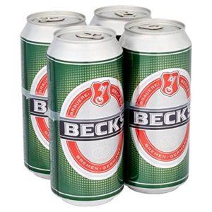 Beck's Beer 4 x 440ml