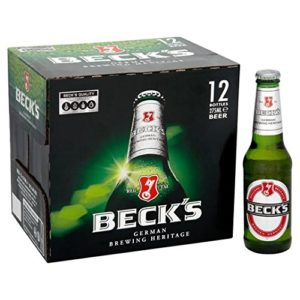 Beck's Beer Bottles 12 x 275ml