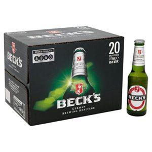 Beck's Beer Bottles 20 x 275ml