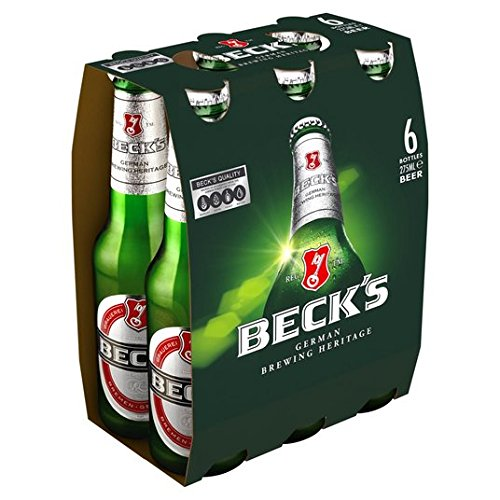 Beck's Beer Bottles 6 x 275ml