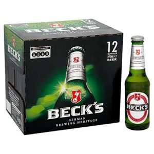 Beck's Bier 12 x 275ml – (Pack of 2)