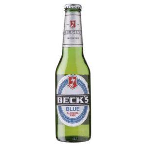 Becks Blue Alcohol Free Lager (24 x 275ml Bottles)