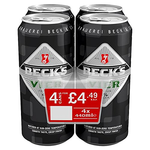 Beck's Vier 4 x 440ml (Pack of 6 x 4x440ml)