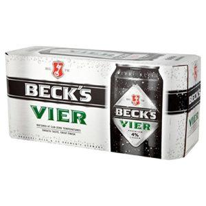 Becks Vier Lager (18 x 440ml Cans)