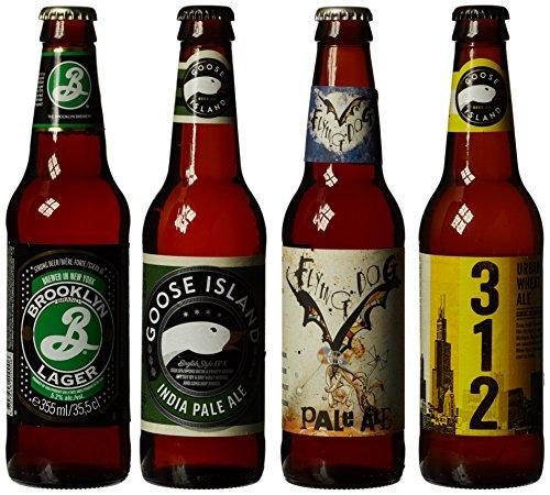 Best of American Craft Beer Bottle Gift Pack (Case of 4)