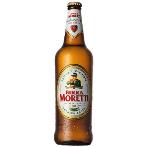 Birra Moretti – Premium Italian Lager Beer – 24 x 330 ml – 4.6 % ABV