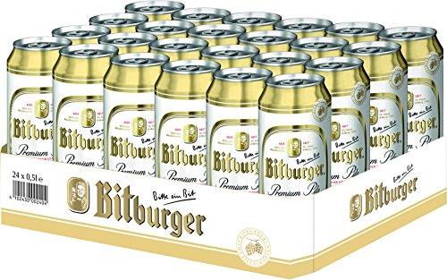 Bitburger Premium Beer 24 x 0,5l