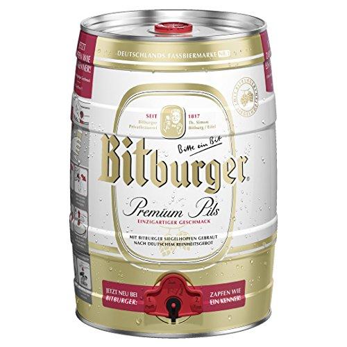 Bitburger Premium Pils Barrel 5 Litre