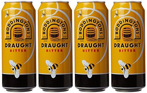 Boddingtons Draught Bitter Can, 4 x 440 ml