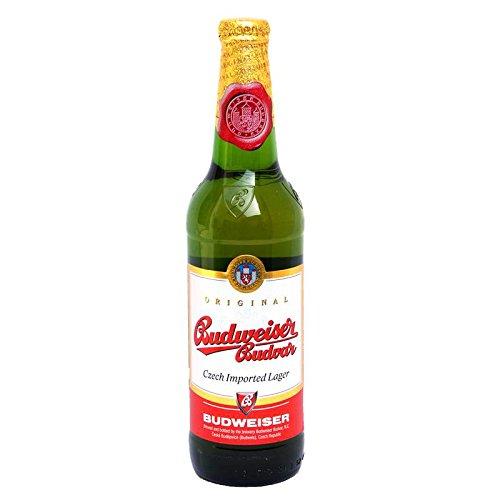 Budweiser Budvar Original Czech Lager Beer, 500ml