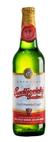 Budweiser Budvar – Premium Czech Republic Lager Beer – 24 x 330 ml – 5% ABV