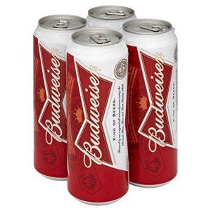 Budweiser Lager (24 x 568ml Pint Cans)