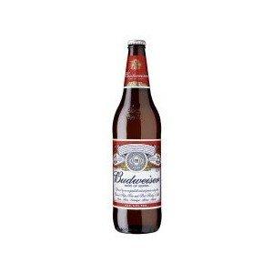 Budweiser – Premium American Lager Beer – 12 x 660 ml – 4.8% ABV