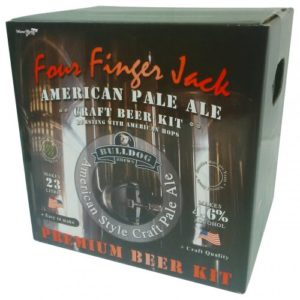 Bulldog Home brew Kit Four Finger Jack American Pale Ale