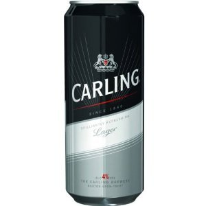 Carling Lager (20 x 440ml Cans)