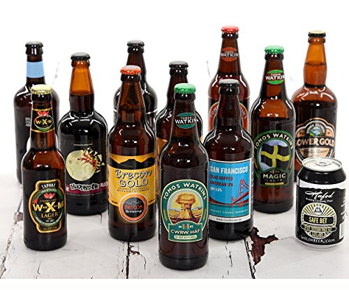 Case of mixed Welsh microbrewery beers – 12 Bottles