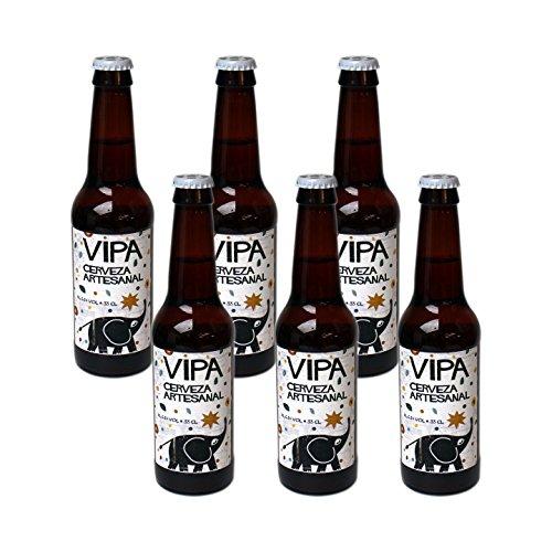 Cerveza Artesanal Tyris VIPA Beer, 6 x 330 ml