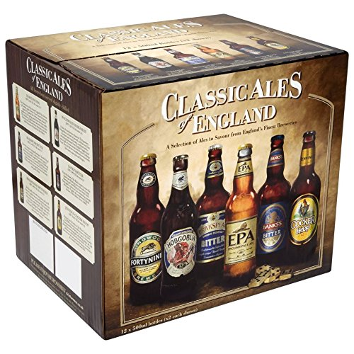 Classic Ales of England Collection Pack (12 x 500ml Bottles)