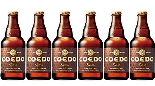 Coedo Kyara IPA Beer, 6 x 333 ml