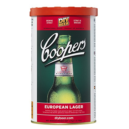 Coopers DIY Beer European Lager Homebrewing Craft Beer Brewing Extract