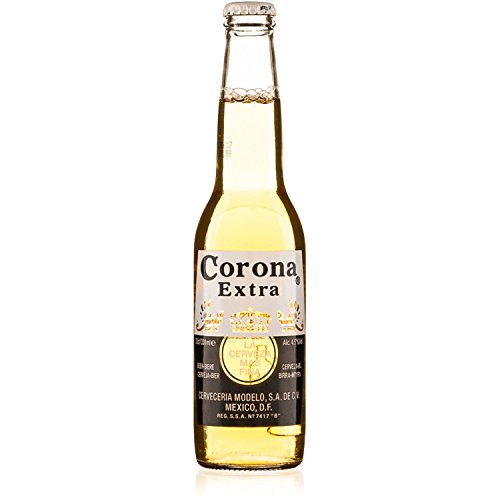 Corona Extra Imported Mexican Lager (18 x 330ml Bottles)
