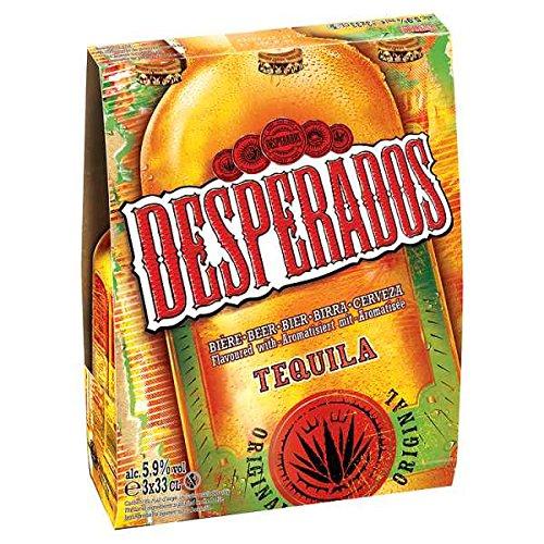 Desperados Tequila 3 x 330ml (Pack of 8 x 3x330ml)