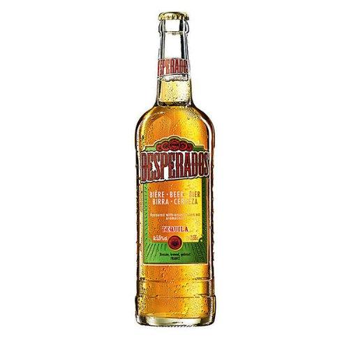 Desperados beer with tequila 6 bottles (6 x 0.65 liters)