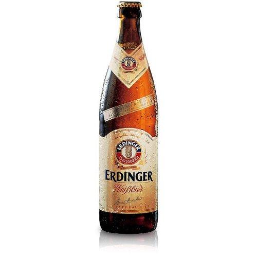 Erdinger Weissbeir – Premium German White Wheat Beer – 12 x 500 ml – 5.3% ABV