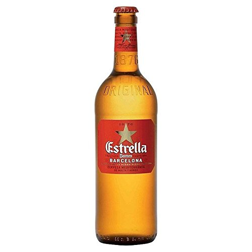 Estrella Damm Premium Lager 660ml – (Pack of 2)