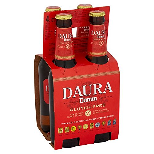 Estrella Daura Damm Lager (24 x 330ml Bottles)