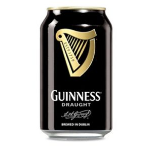 Guinness Draught Beer can 33cl (24 cans)