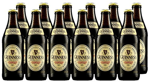 Guinness Original Extra Stout Beer 12 x 500 ml Bottle