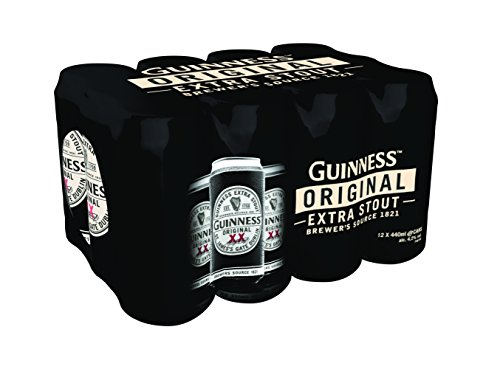 Guinness Original Extra Stout, 12 x 440ml