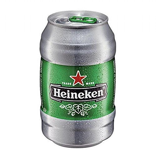 Heineken Lager ID Can (24 x 330ml Cans)