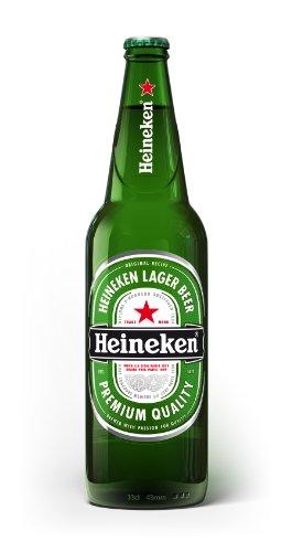 Heineken – Premium Dutch Lager Beer – 12 x 650 ml – 5% ABV