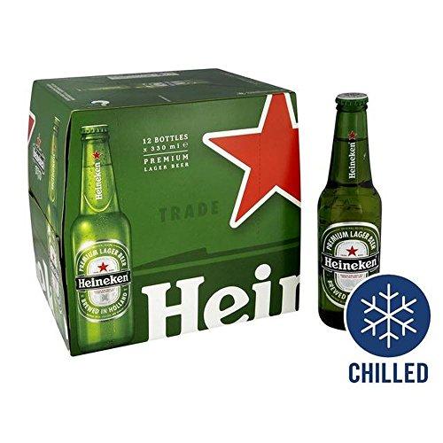 Heineken Premium Imported 5% Lager 12 x 330ml – (Pack of 2)