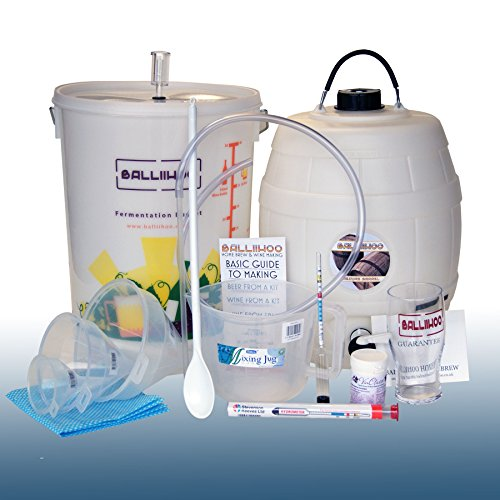 Balliihoo® Complete Homebrew Beer Making Equipment Starter Set – Best Seller