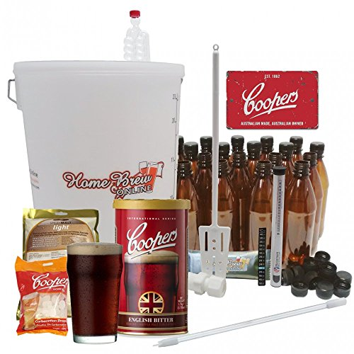 Home Brew Online Complete Starter Kit with Coopers English Bitter