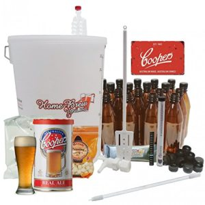 Home Brew Online Complete Starter Beer Making Kit – with Coopers Real Ale