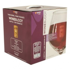 Home Brew & Wine Making – Winebuddy Complete 7 Day Starter Kit – For 6 Bottles Of Cabernet Sauvignon