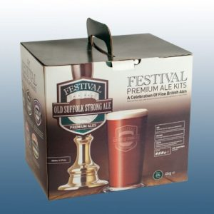 Homebrew & Wine Making – Festival Premium Ale – Old Suffolk Strong Ale – 40 Pint Home Brew Beer Kit