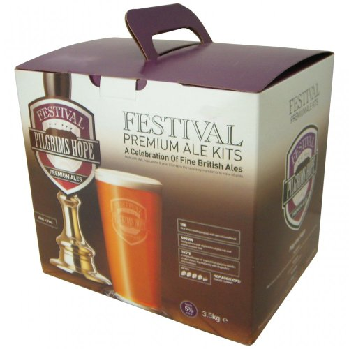Homebrew & Wine Making – Festival Premium Ale – Pilgrims Hope – 40 Pint Home Brew Beer Kit