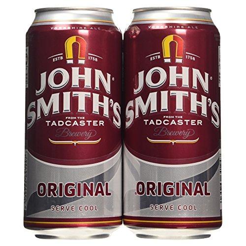 John Smiths Original Bitter Can 440 ml (Case of 4)