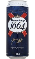KRONENBOURG Lager 24x 500ml Cans