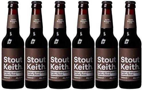 Keith Brewery Stout Keith Coffee Stout, 6 x 330 ml
